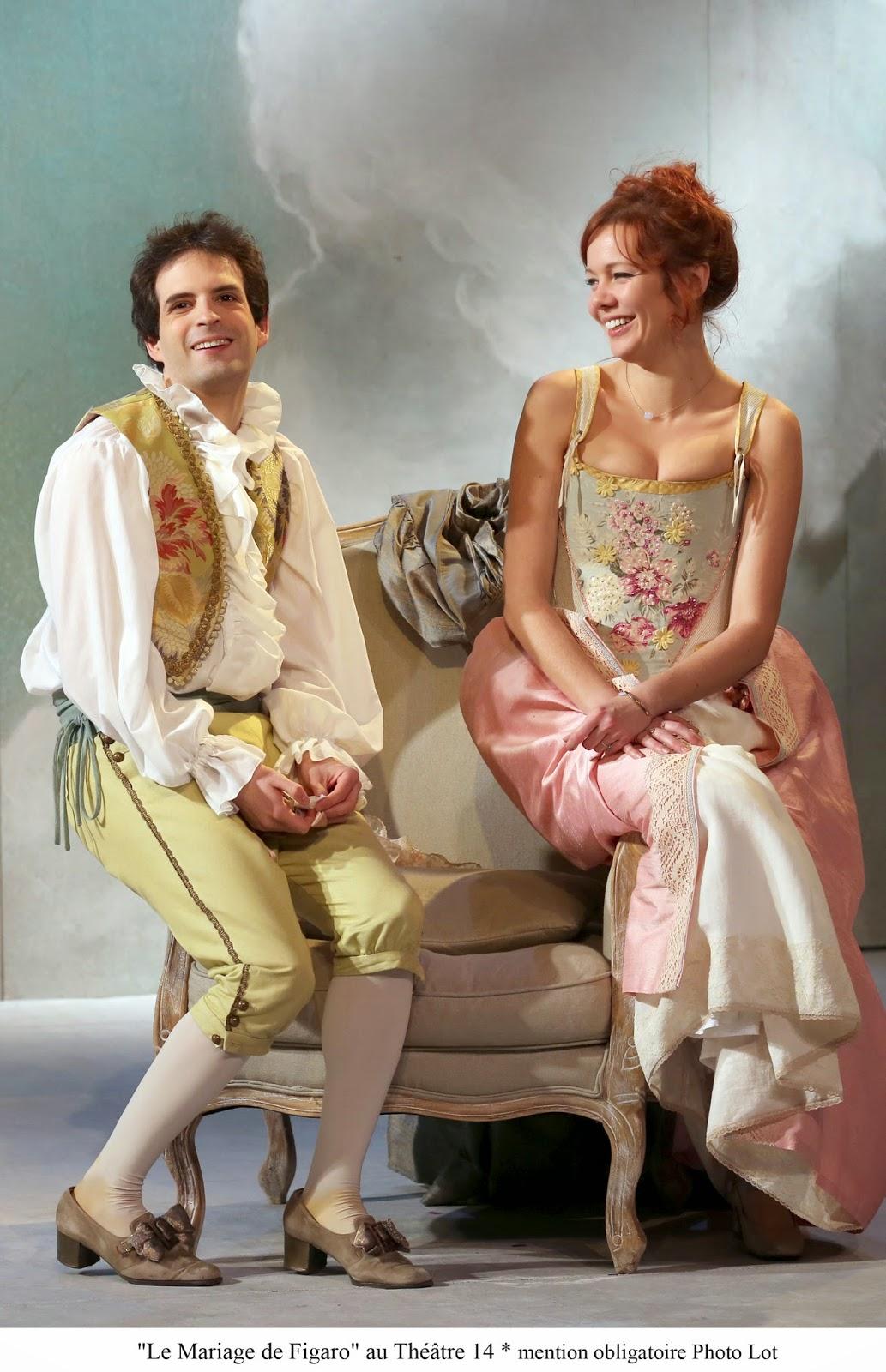 le mariage de figaro mis en scne par jean paul tribout au thtre 14 - Piece De Theatre Le Mariage De Figaro
