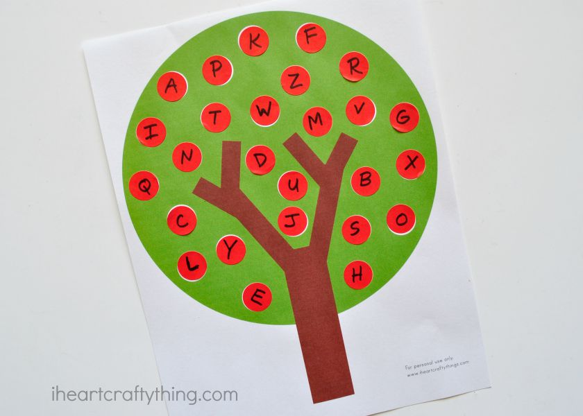 We Are Super Excited To Offer Several Different Variations Of The Apple Tree Printable In Our New Teachers Pay Store