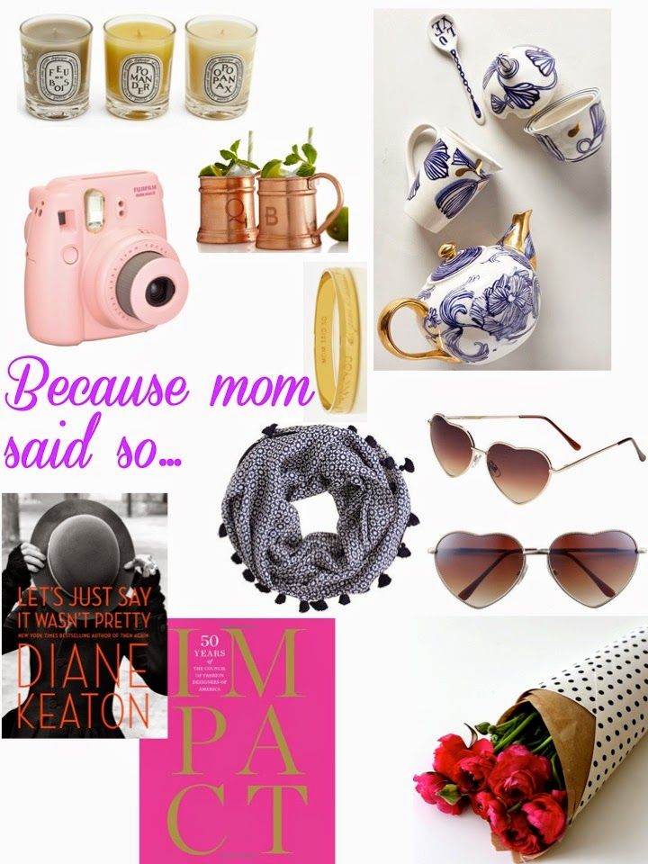 Mother's Day, Gift Guide, Anthropologie, diptyque, voluspa, nordstrom, jcrew, fujifilm,