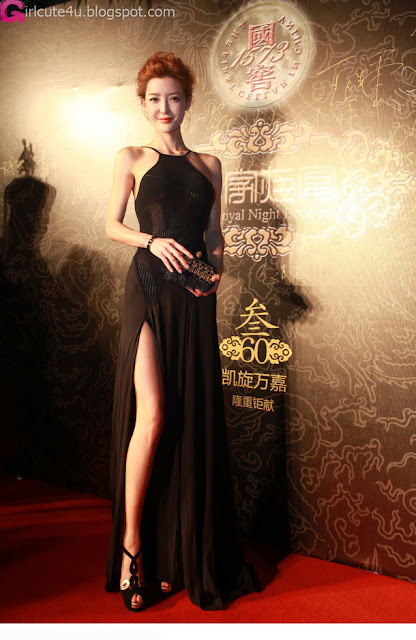 1 Li Yingzhi red carpet shape-very cute asian girl-girlcute4u.blogspot.com