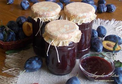 Preparare gem de prune - etapa 9