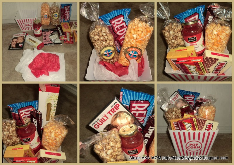 Wedding Movie Gift Basket : Gift Basket done under USD25, with a GREAT personal touch!