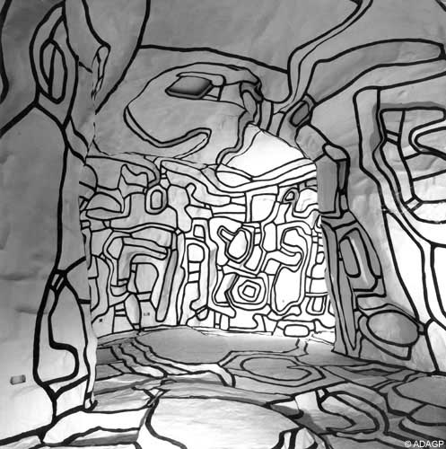 Mine d 39 art hommage un artiste jean dubuffet - Jardin d hiver de la berteliere ...