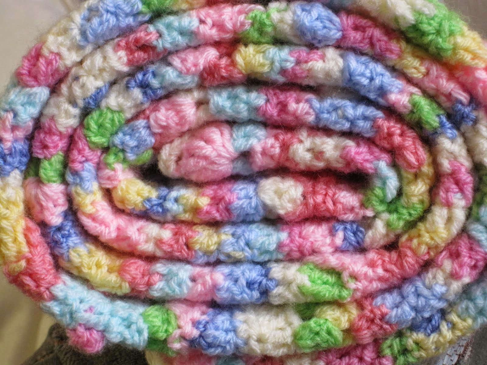 Emma's Stripey Blanket