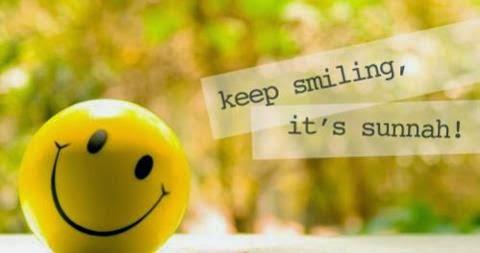 Senyum satu sunnah ^_^