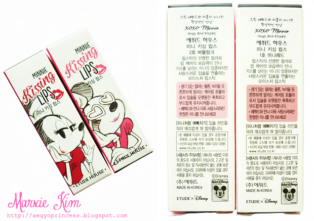 Etude House XOXO Minnie Kissing Lips Review