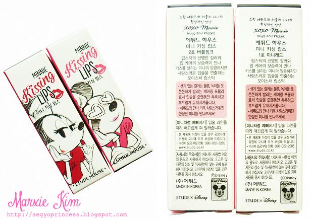 Etude House XOXO Minnie Kissing Lips Review