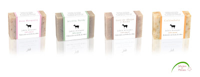 Jabones naturales de leche de cabras
