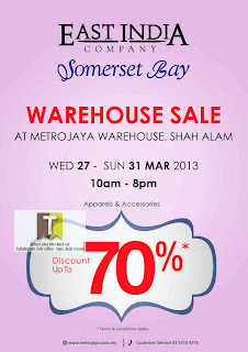 East India Somerset Bay Warehouse Sale 2013