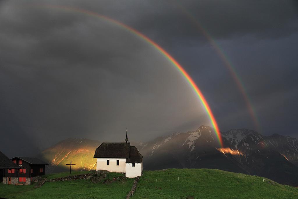 красивое фото радуги