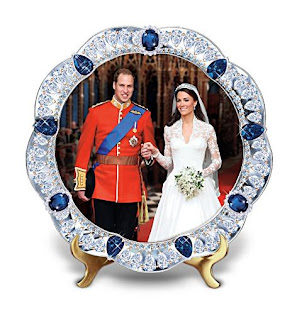 Prince William And Kate Middleton Royal Wedding Collector Plate