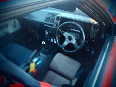 Toyota Trueno Interior