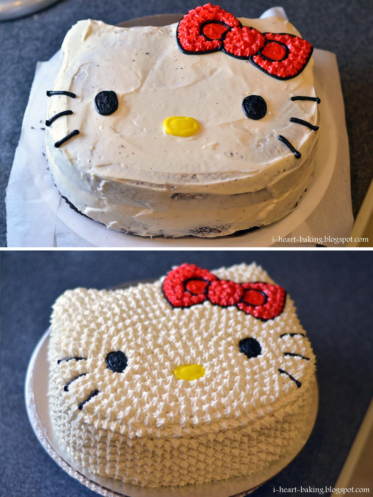 Images Of A Hello Kitty Cake : i heart baking!: hello kitty cake