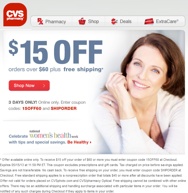 Pharmacy discount coupon