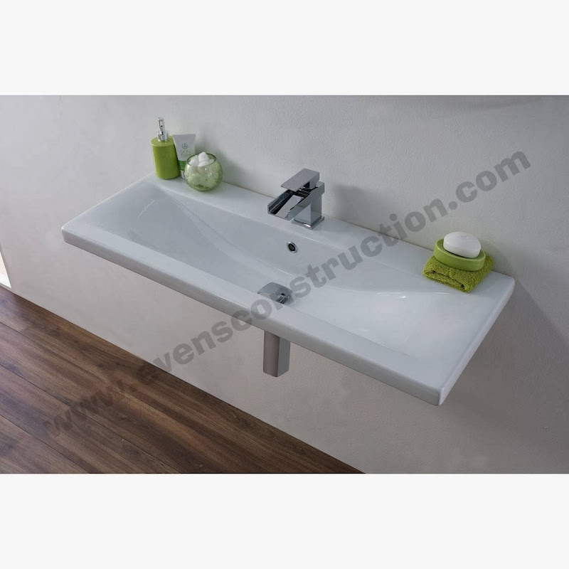 shape bathroom furniture integrated cabinets basins double basin title=