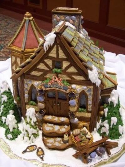 Gingerbread art by Ultimate Gingerbread