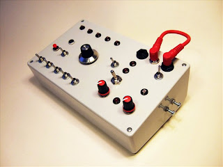 hand made synthesizer