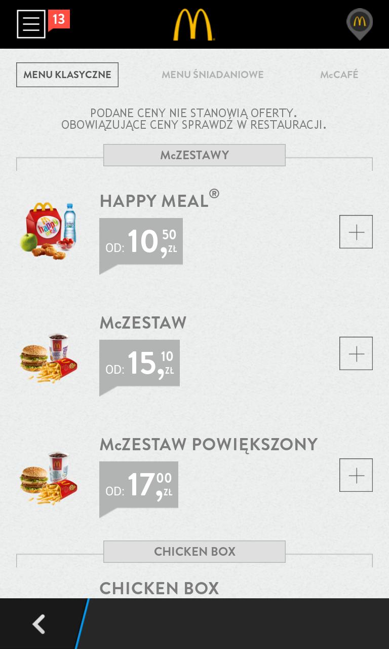 Aplikacja McDonald's Polska pozwala sporo zaoszczędzić