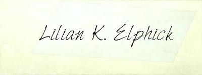 Lilian Elphick