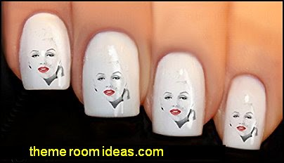 Nail Art Wraps Water Transfer Decals Marilyn Monroe