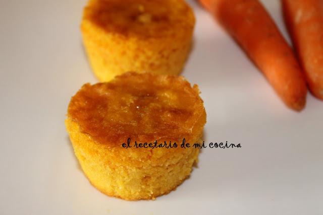 magdalenas de zanahoria