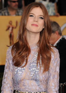 Rose Leslie in See Thru Dress Nipples Visible at 2014 SAG  Games Of  Thrones Actress