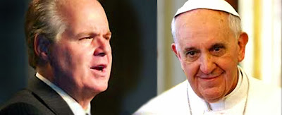 Pope Francis Rush Limbaugh
