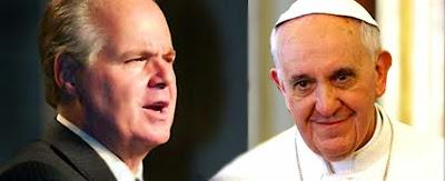 Pope Francis Rush Limbaugh