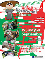 CAMPAMENTO FRANCISCANO VOCACIONAL MEXICANO 2014