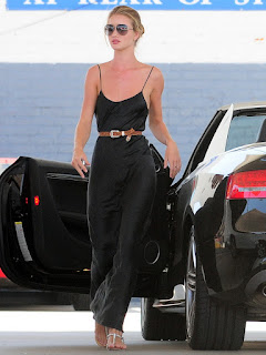 Rosie Huntington-Whiteley Sexy Nip Slip Candids in Los Angeles