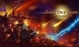 Screenshots of the Epic defense: The elements for Android tablet, phone.