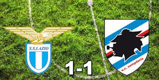 Lazio 1-1 Sampdoria