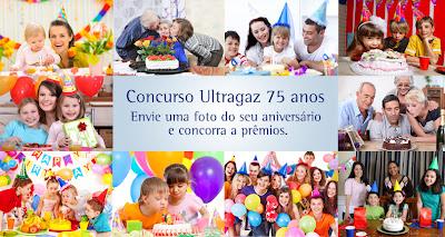 """Concurso Cultural """"75 anos - Ultragaz"""""""