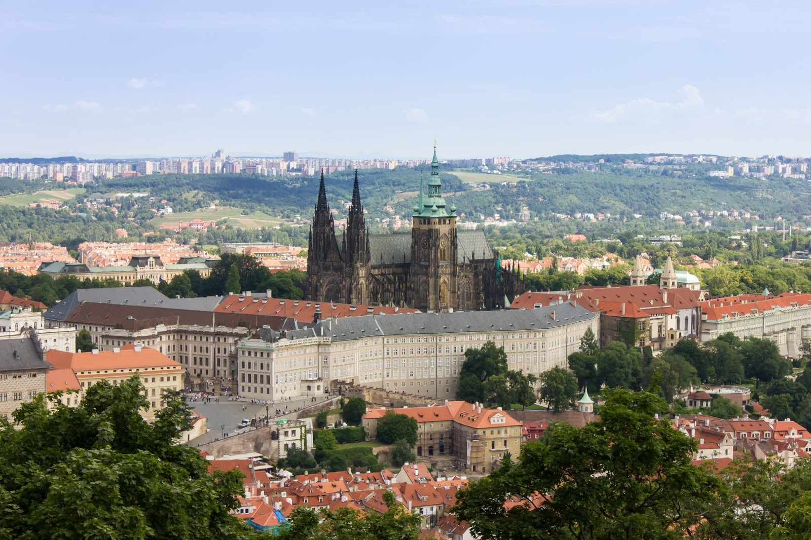 Прага, Чешская Республика, Собор святого Вита