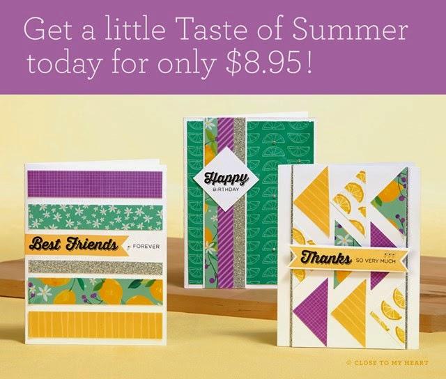 Taste Of Summer Card Workshop