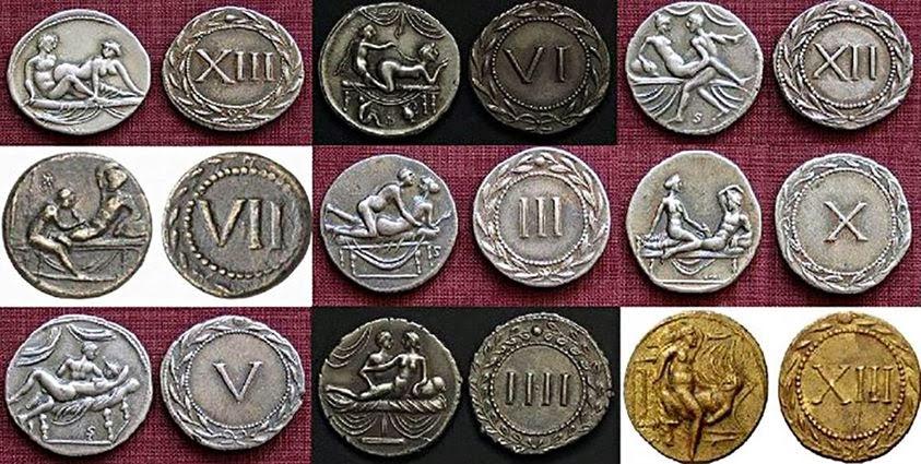 Resultado de imagen para monedas de burdel