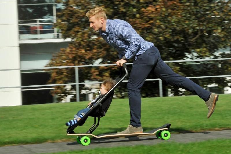 Longboard Stroller New Longboard Stroller