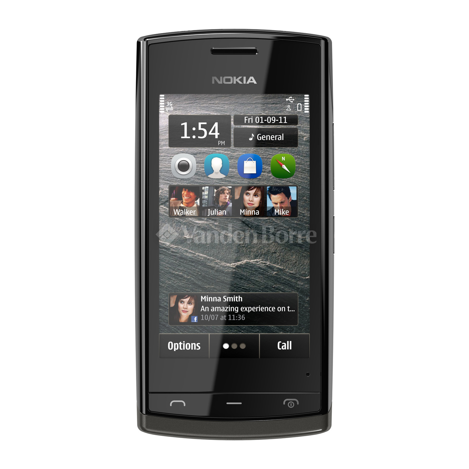The Best Mobiles The Best Price Nokia 500 Black Buy