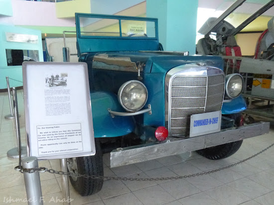 Command Car of President Ferdinand Marcos in PAF Aerospace Museum