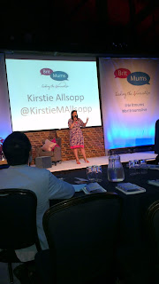Kirsty Allsopp open the Britmums Live blogging conference
