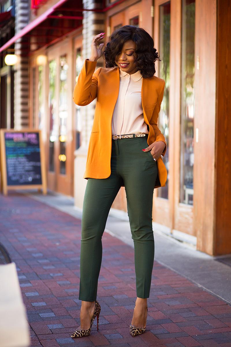 Fall work style, zara blazer, Christian louboutin, www.jadore-fashion.com