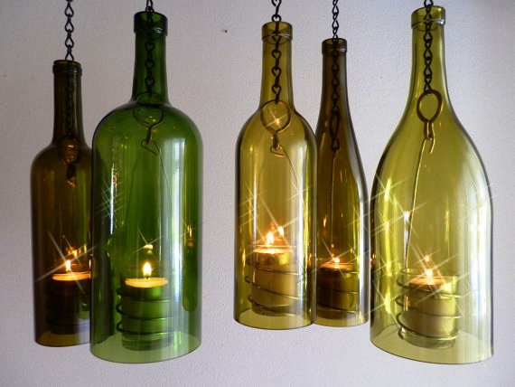 Wine bottle recycle craft project crafts and arts ideas for How to make wine bottle crafts