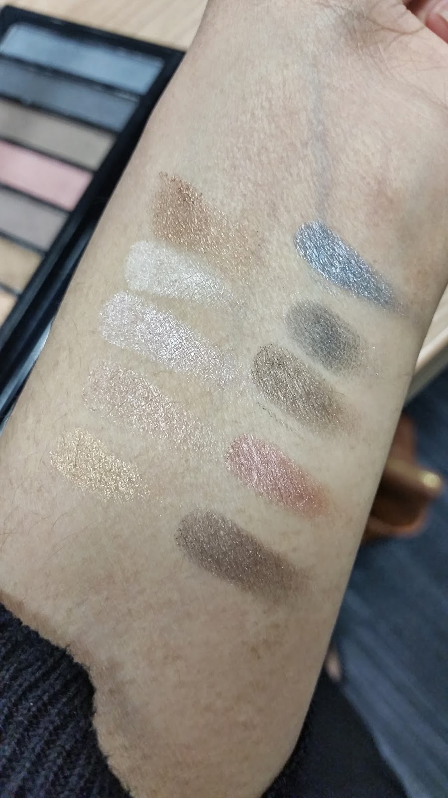 makeup revolution iconic 1 swatches
