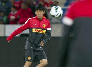 Shinji Kagawa, gelandang baru Manchester United