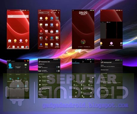PORT ROM Custom R827 DiscoveryII Xperia For Oppo Find 5 Mini