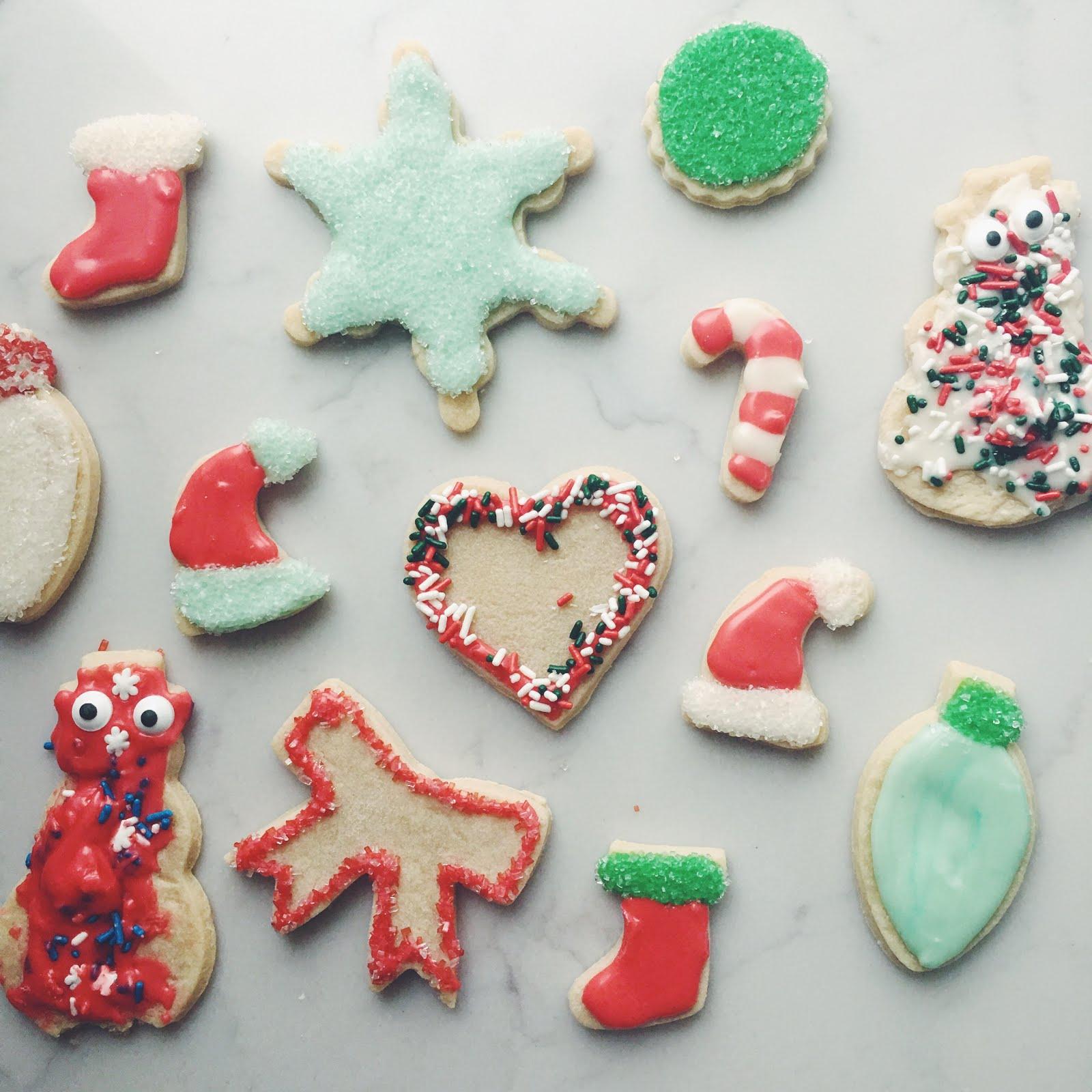 HEN & CO. : Christmas Sugar Cookies!