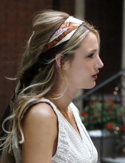 pañuelo en el pelo