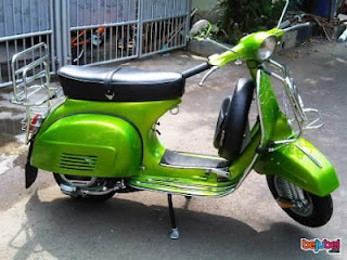vespa cat modifikasi unik