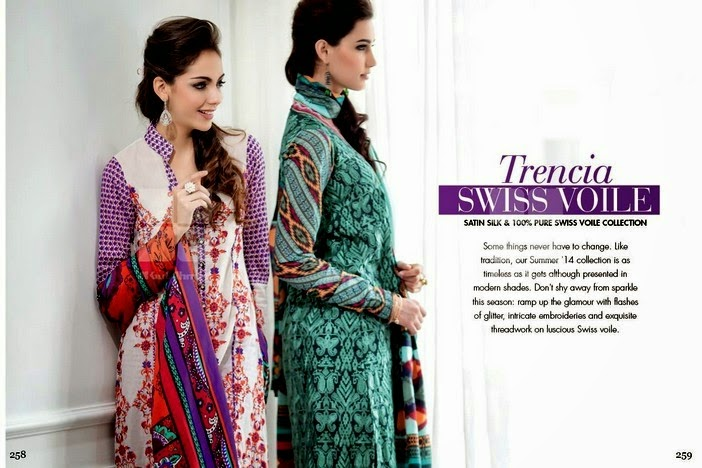 Gul Ahmed Summer Collection 2014-2015