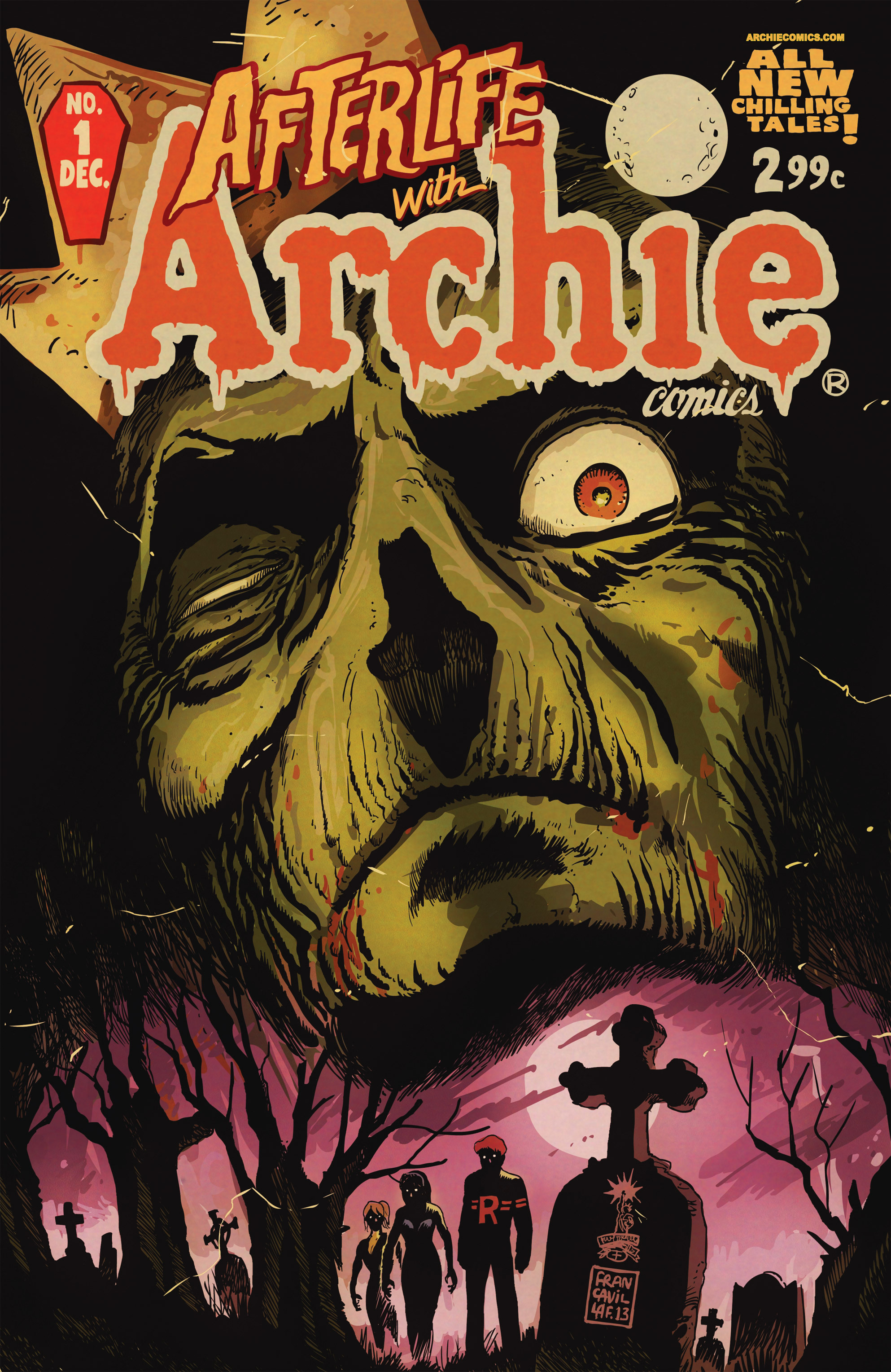 Afterlife with Archie 1 Page 1